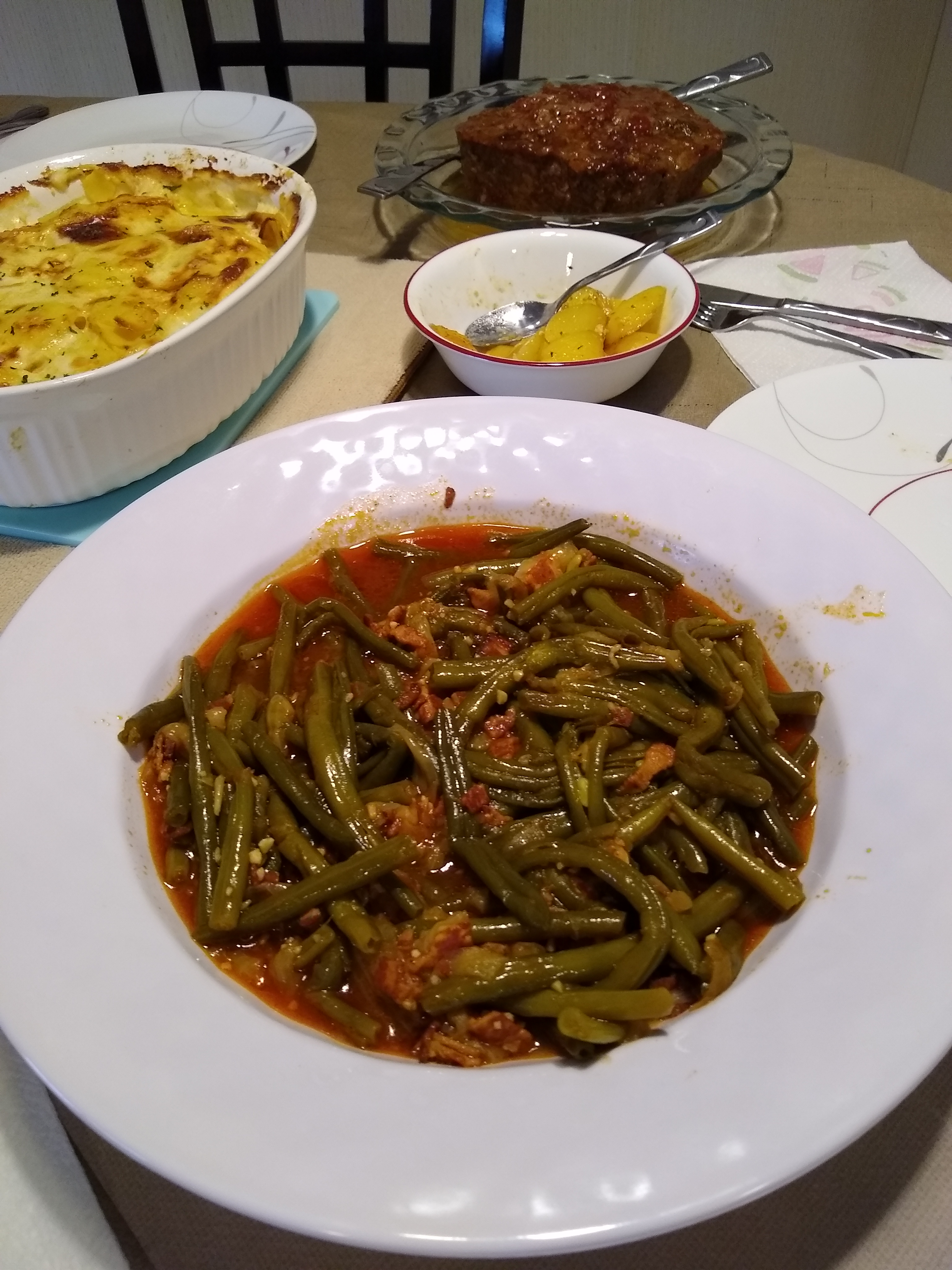 Slow-Cooked Green Beans Teresa J.
