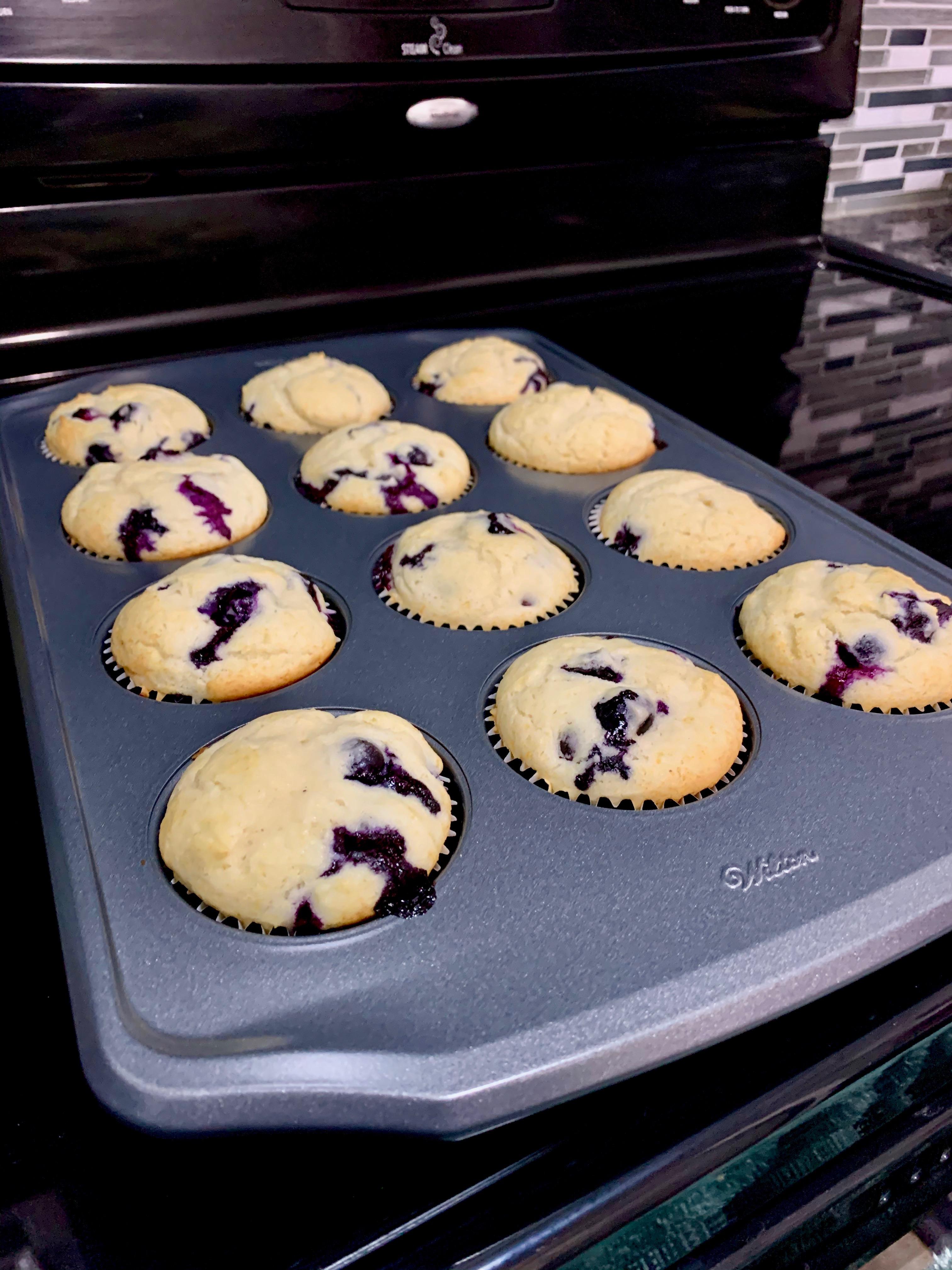 Best Lactose Free Blueberry Muffins Manisha