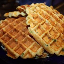Steve's Loaded Potato Waffles
