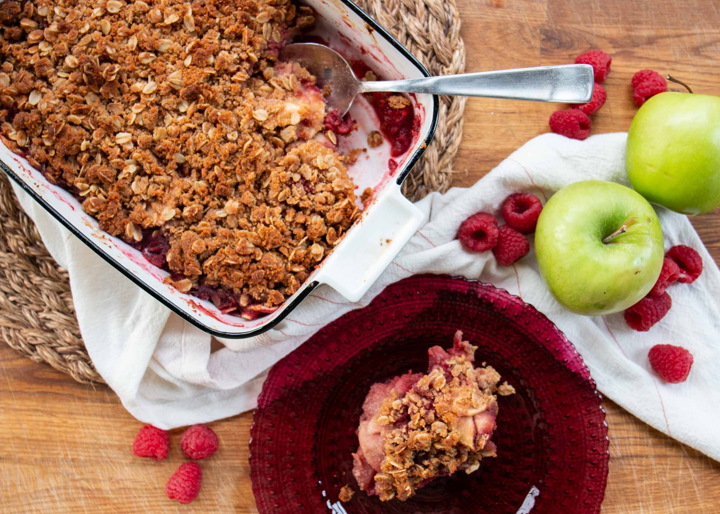 Apple-Raspberry Crisp Mackenzie Schieck
