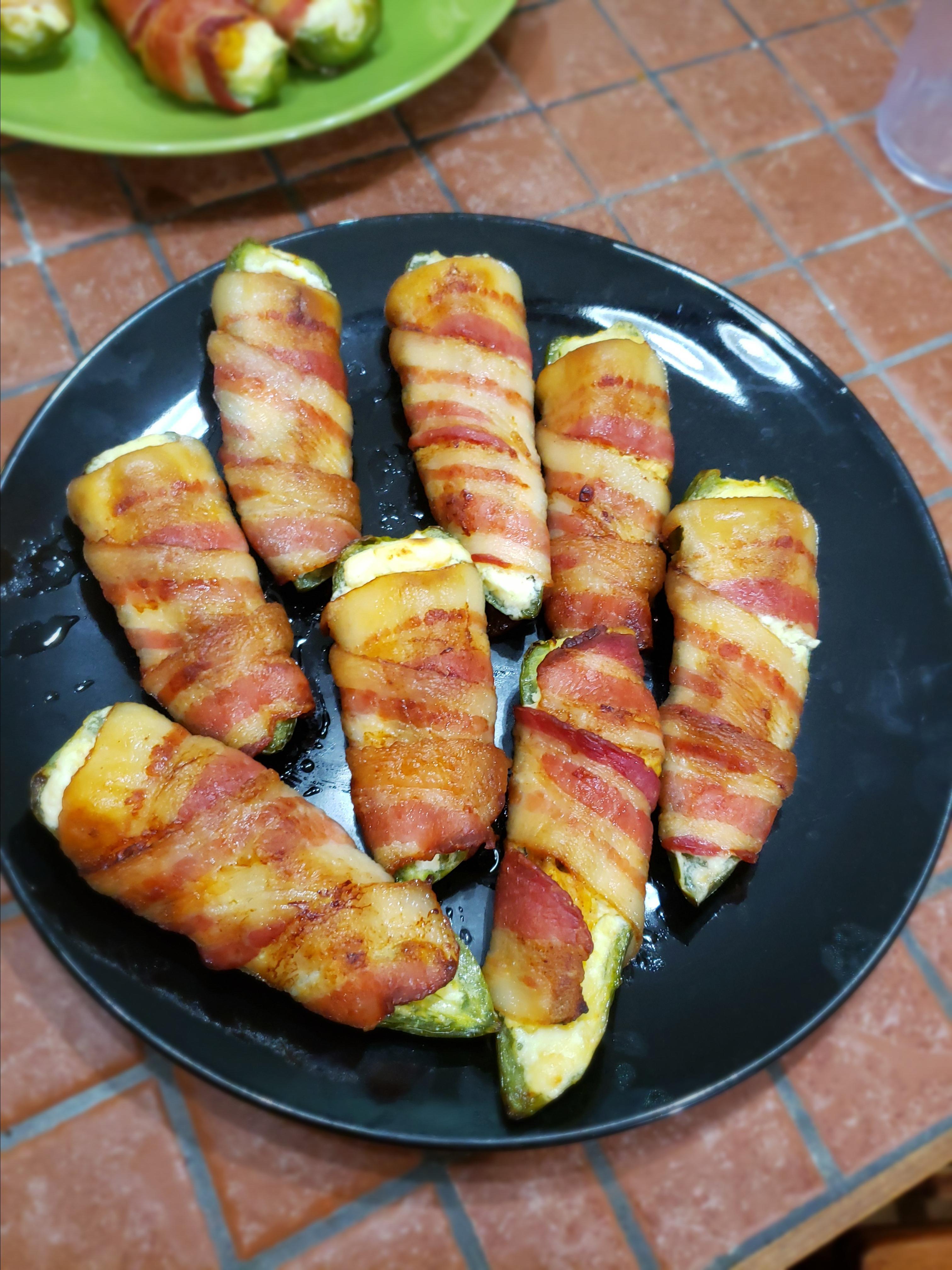 Tikka Chicken Jalapeno Poppers