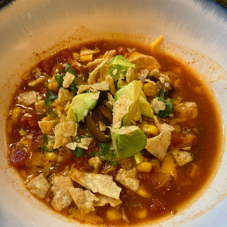 Chicken Tortilla Soup I Jennifer Gibson