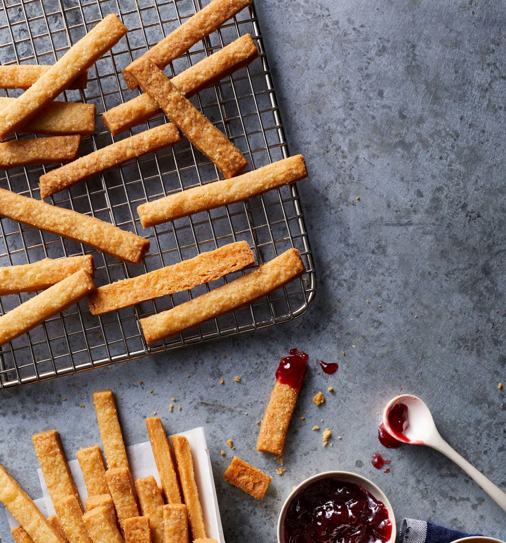 Air Fryer Shortbread Cookie Fries