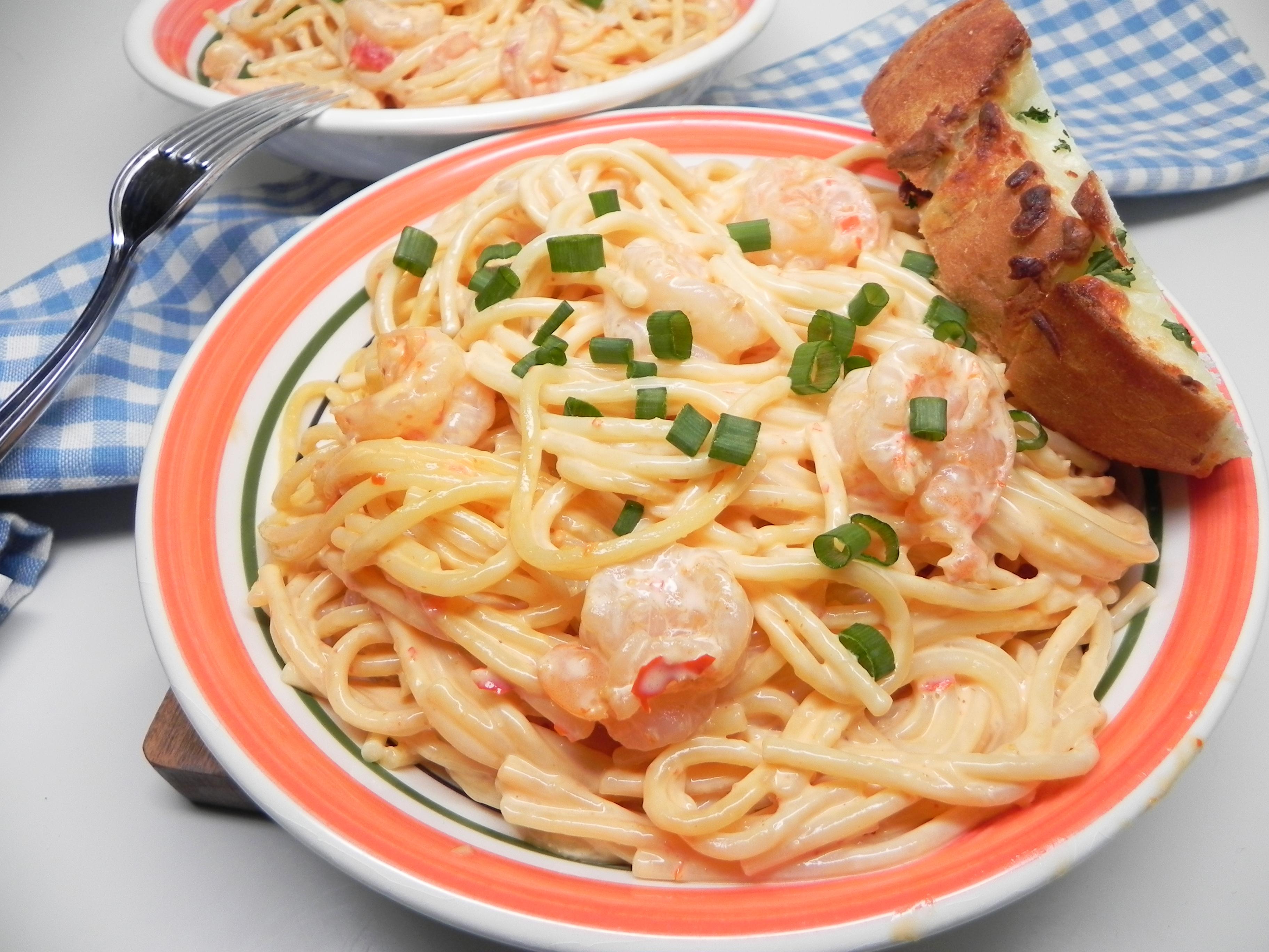 Bang Bang Shrimp Pasta Soup Loving Nicole