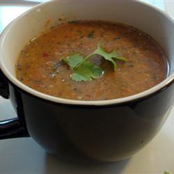 Carrot Chile and Cilantro Soup MBKRH