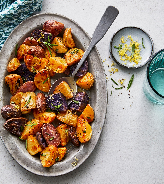 Air Fryer Rosemary Garlic Baby Potatoes Trusted Brands