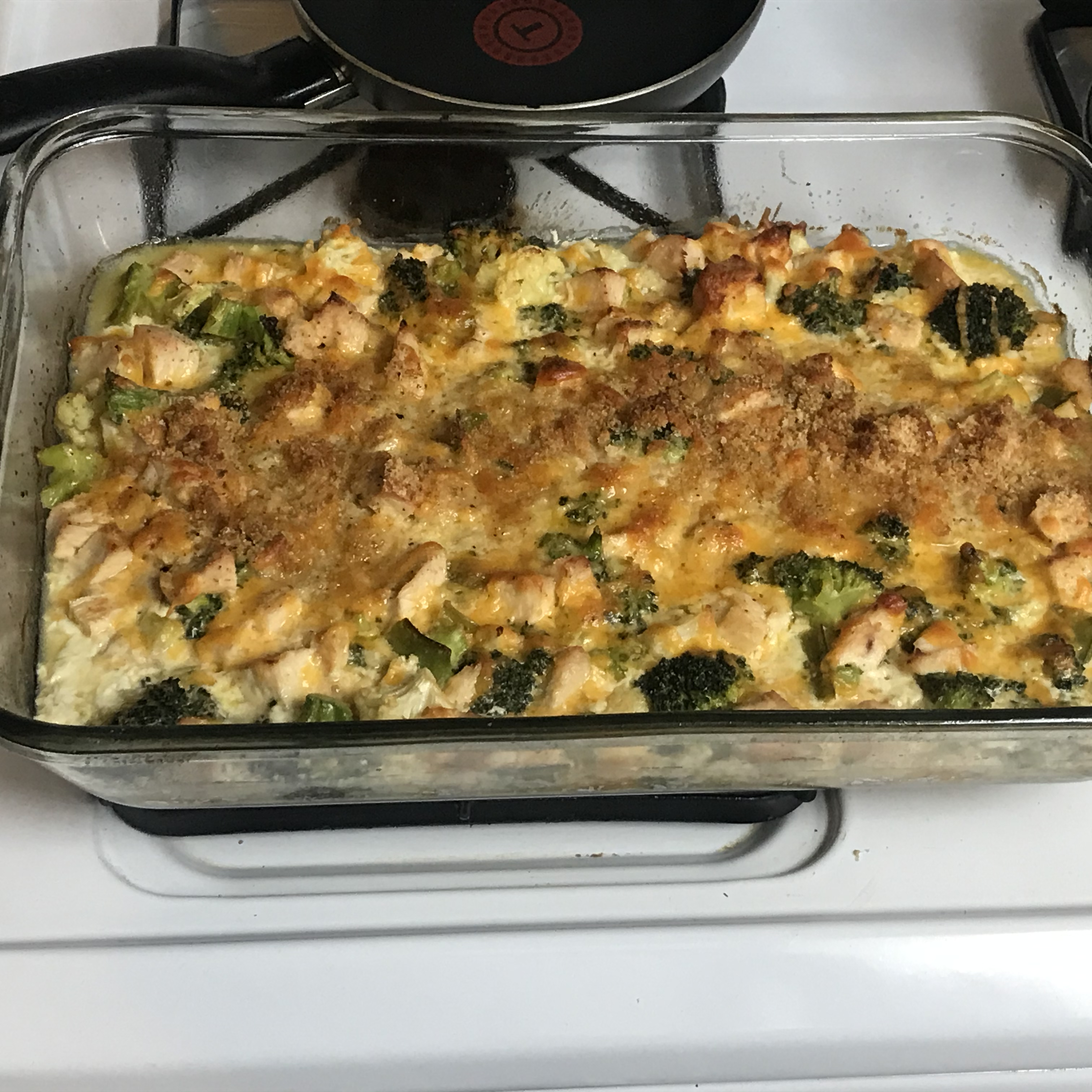 Cheddar Broccoli and Chicken Casserole from Country Crock® A Lowrey