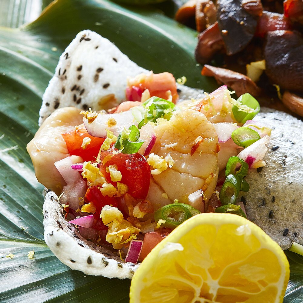 Scallop Ceviche Kinilaw Na Scallops Allrecipes