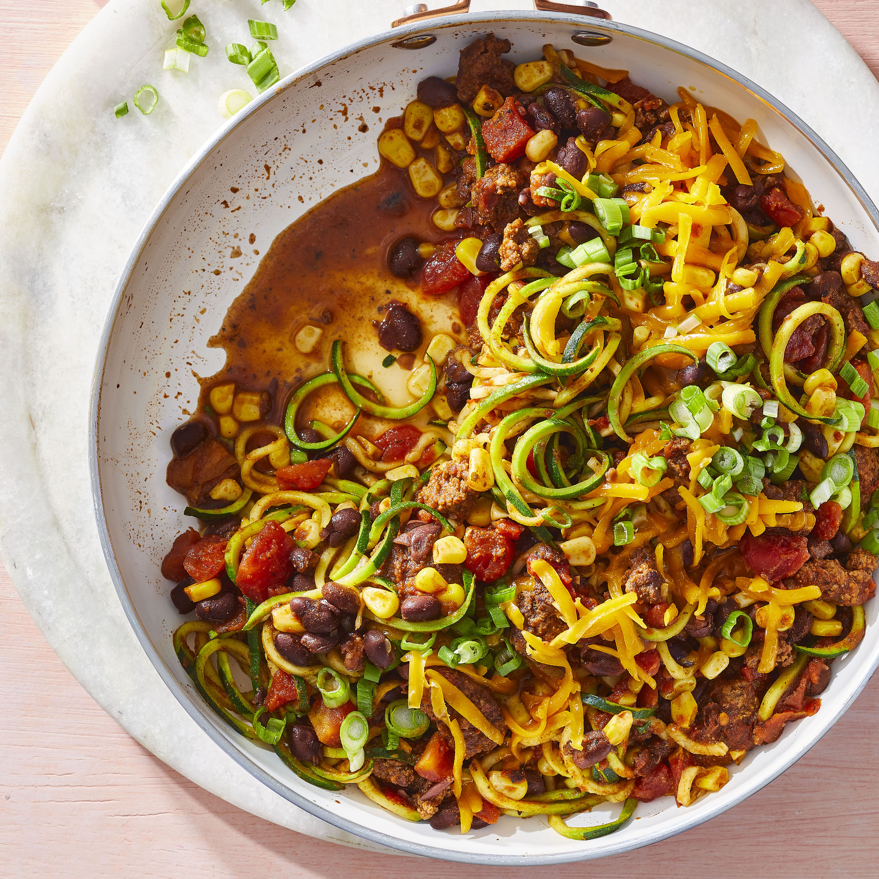 Zucchini Taco Skillet Allrecipes Magazine