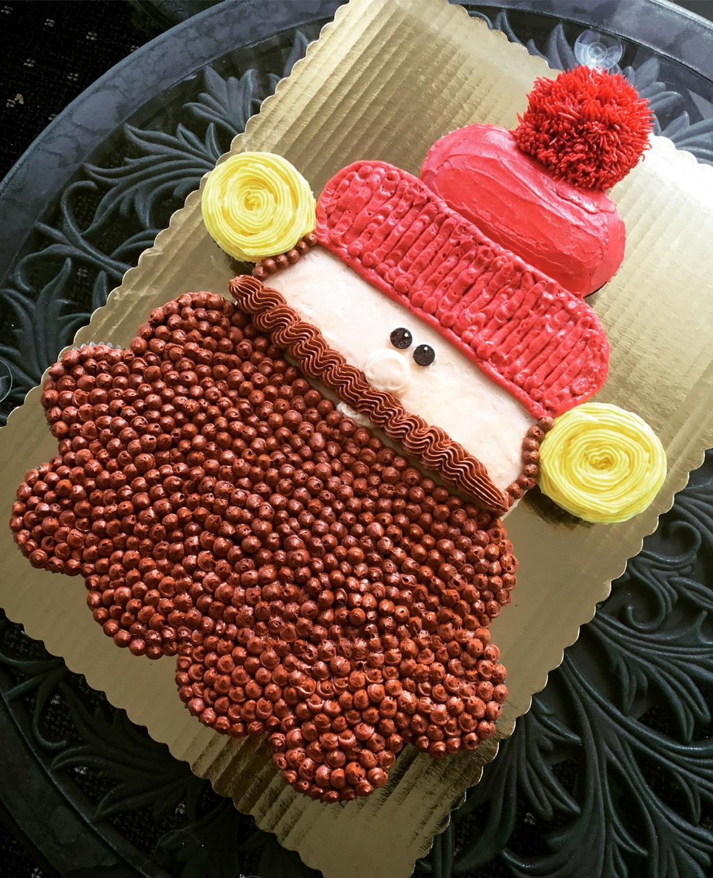 Yukon Cornelius Pull-Apart Cupcake Cake Lisa