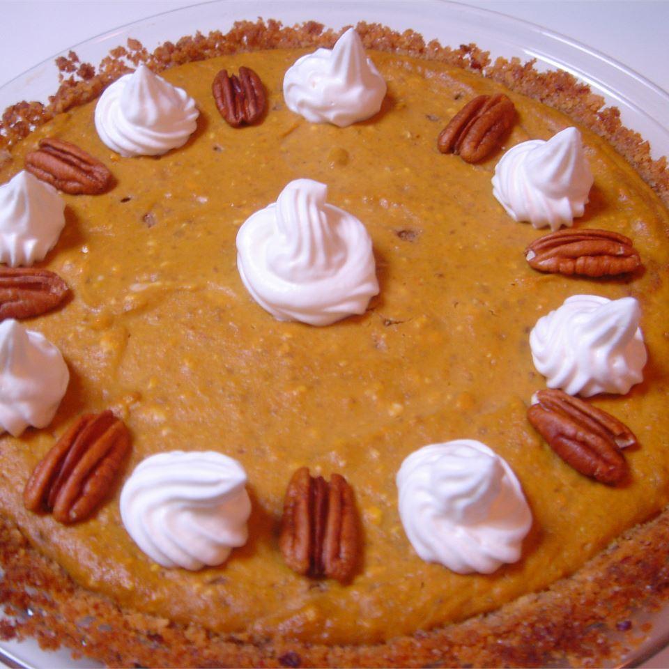 Pumpkin Cheesecake Pie Carolyn Rothwell