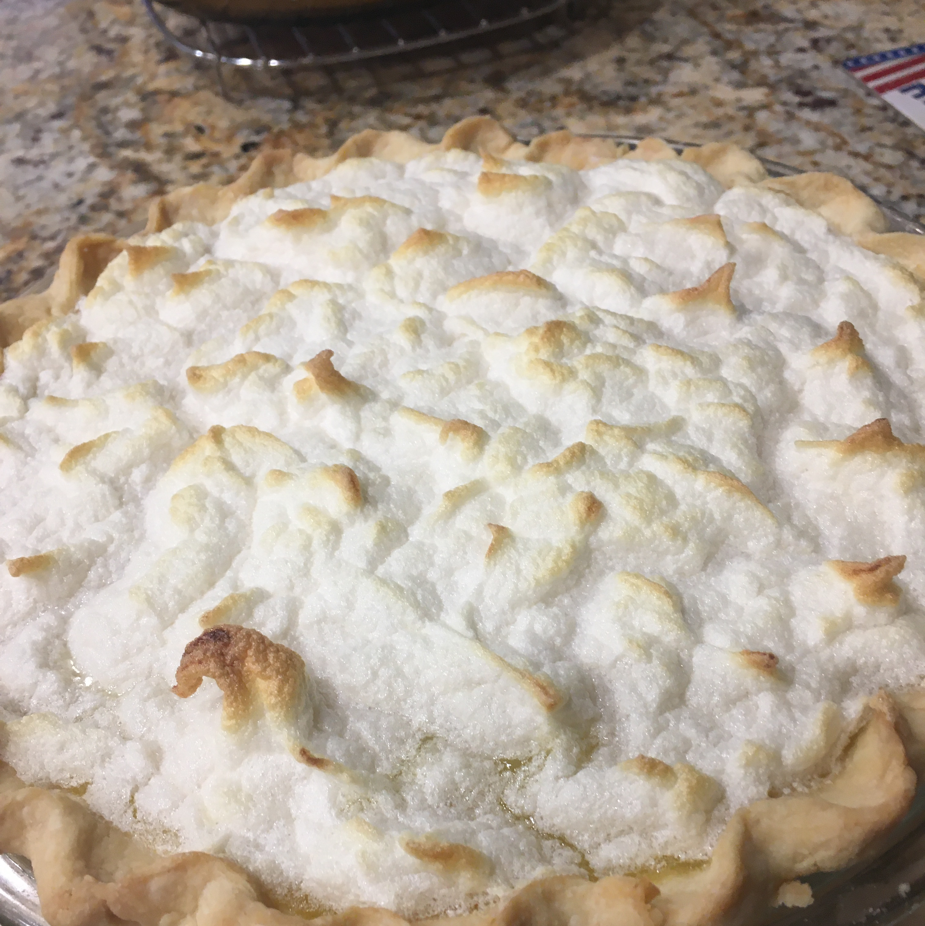 Old Fashioned Lemon Pie
