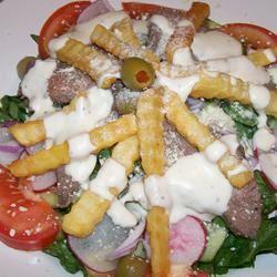 Philly Steak Salad Cheesecakemama