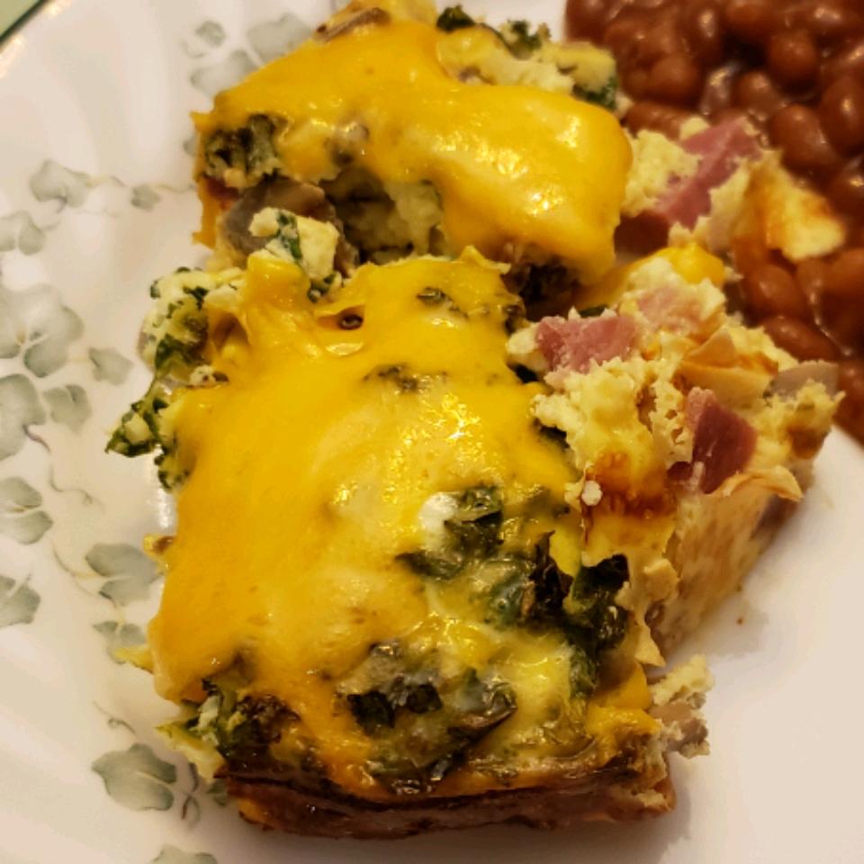 Ham and Egg Breakfast Bake