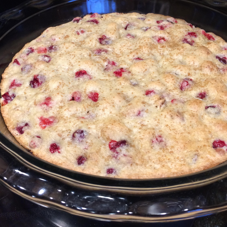 Crustless Cranberry Pie Lisa Richardi Frenette