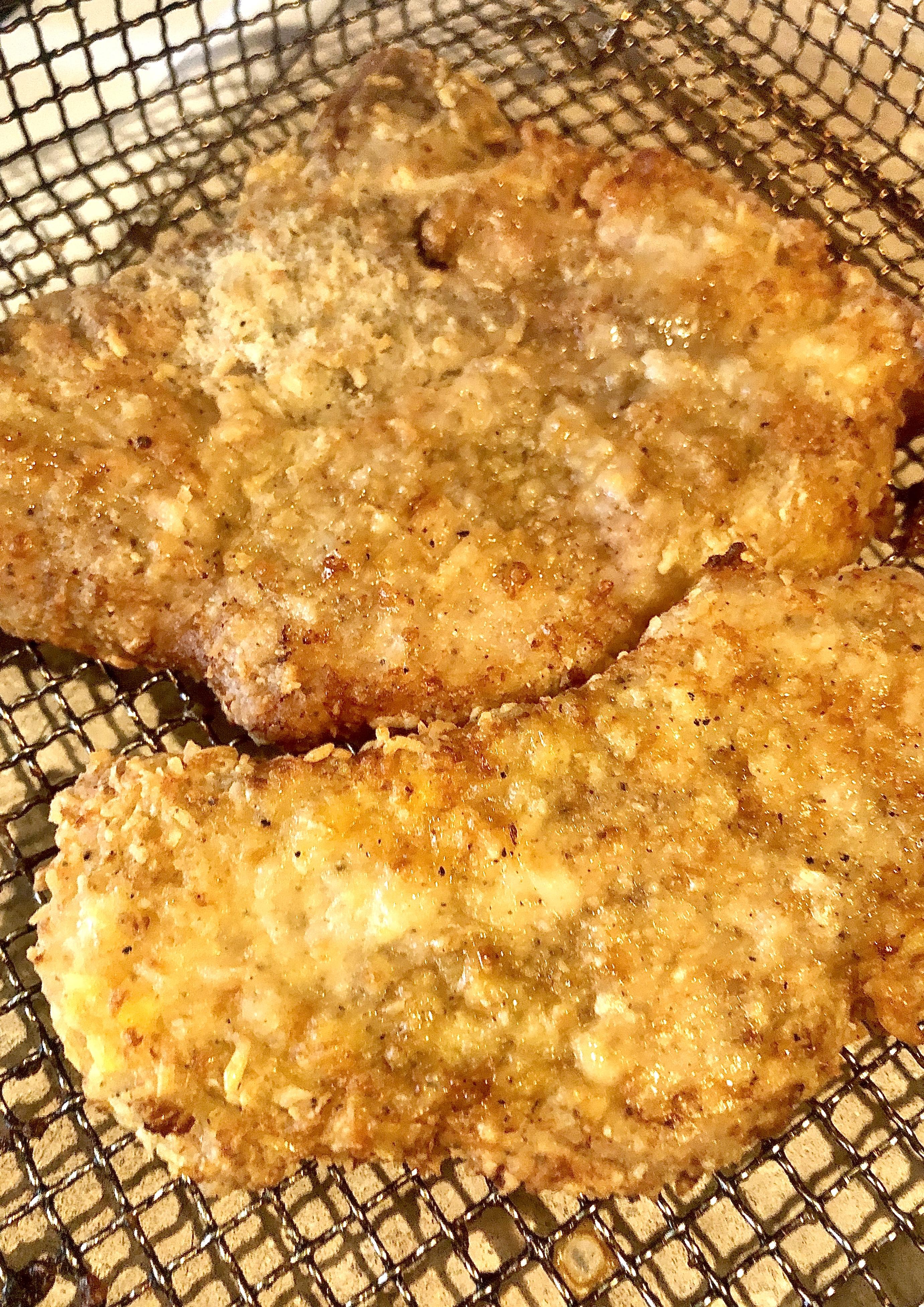 Air Fryer Keto Pork Chops Yoly