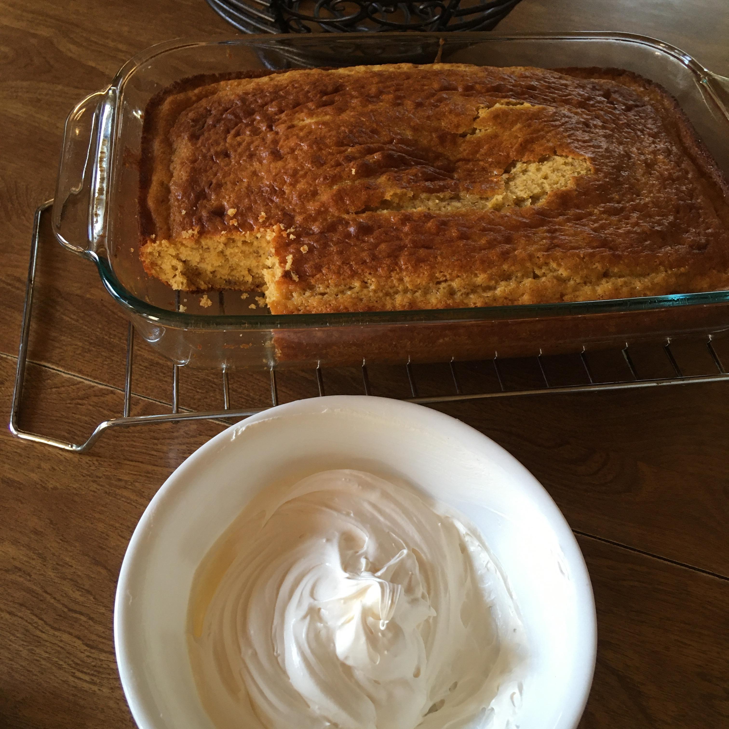 Banana Loaf Cake II tina