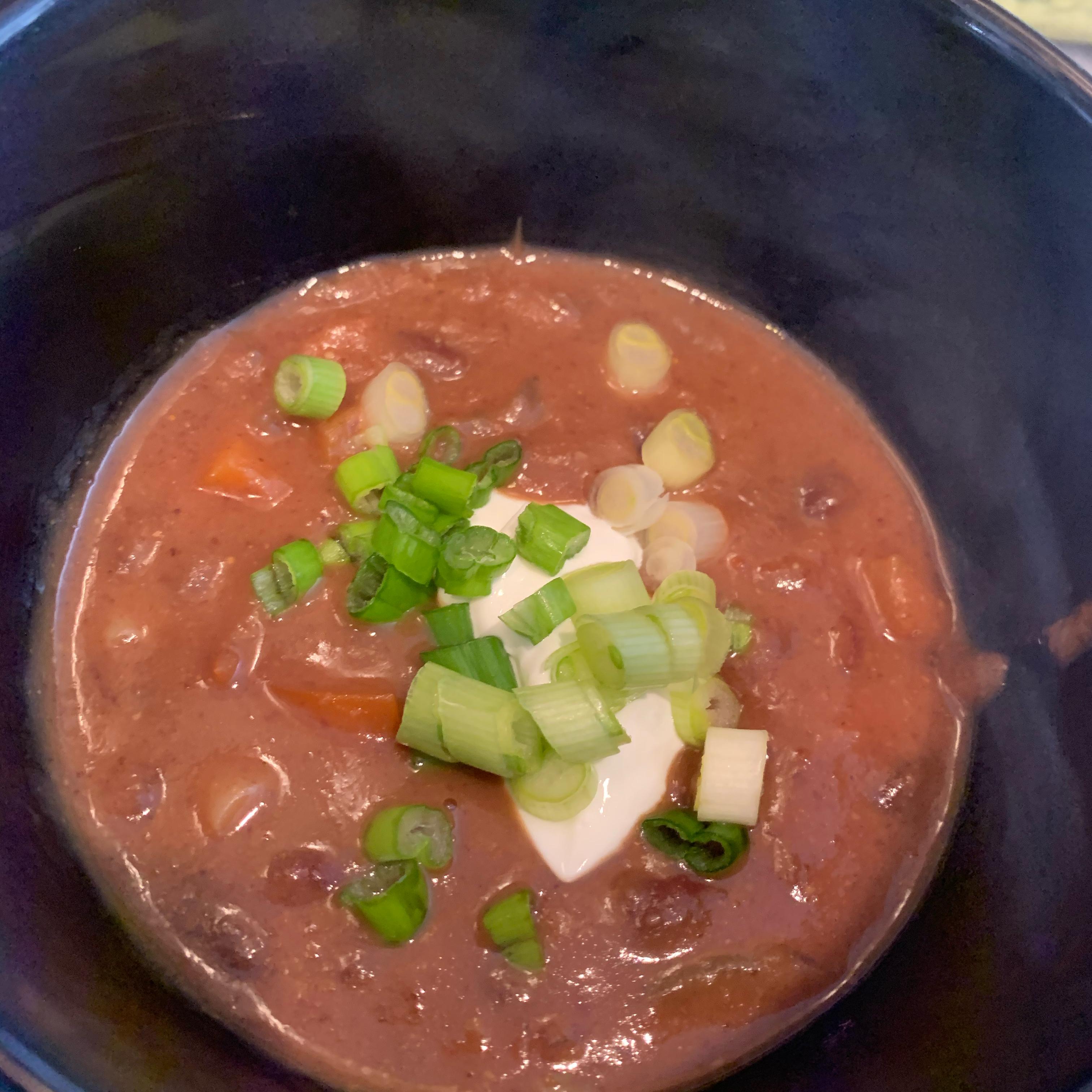 Brazilian Black Bean Soup JACQUIE333