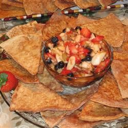 Annie's Fruit Salsa and Cinnamon Chips KLight