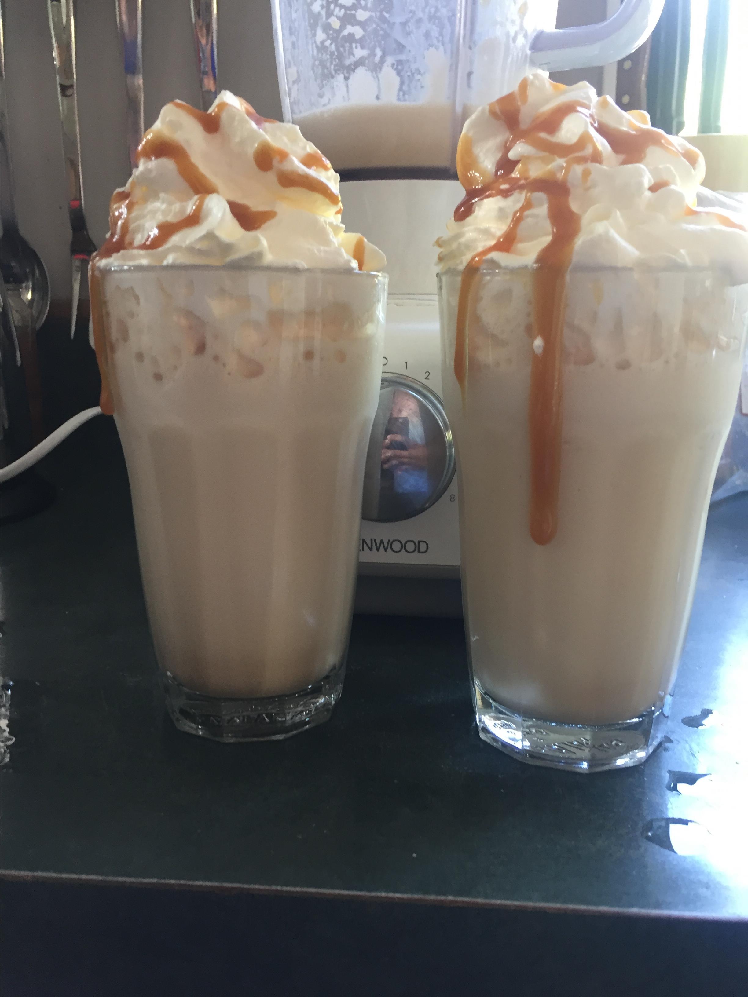 Starbucks® Caramel Frappuccino Copycat Recipe milo