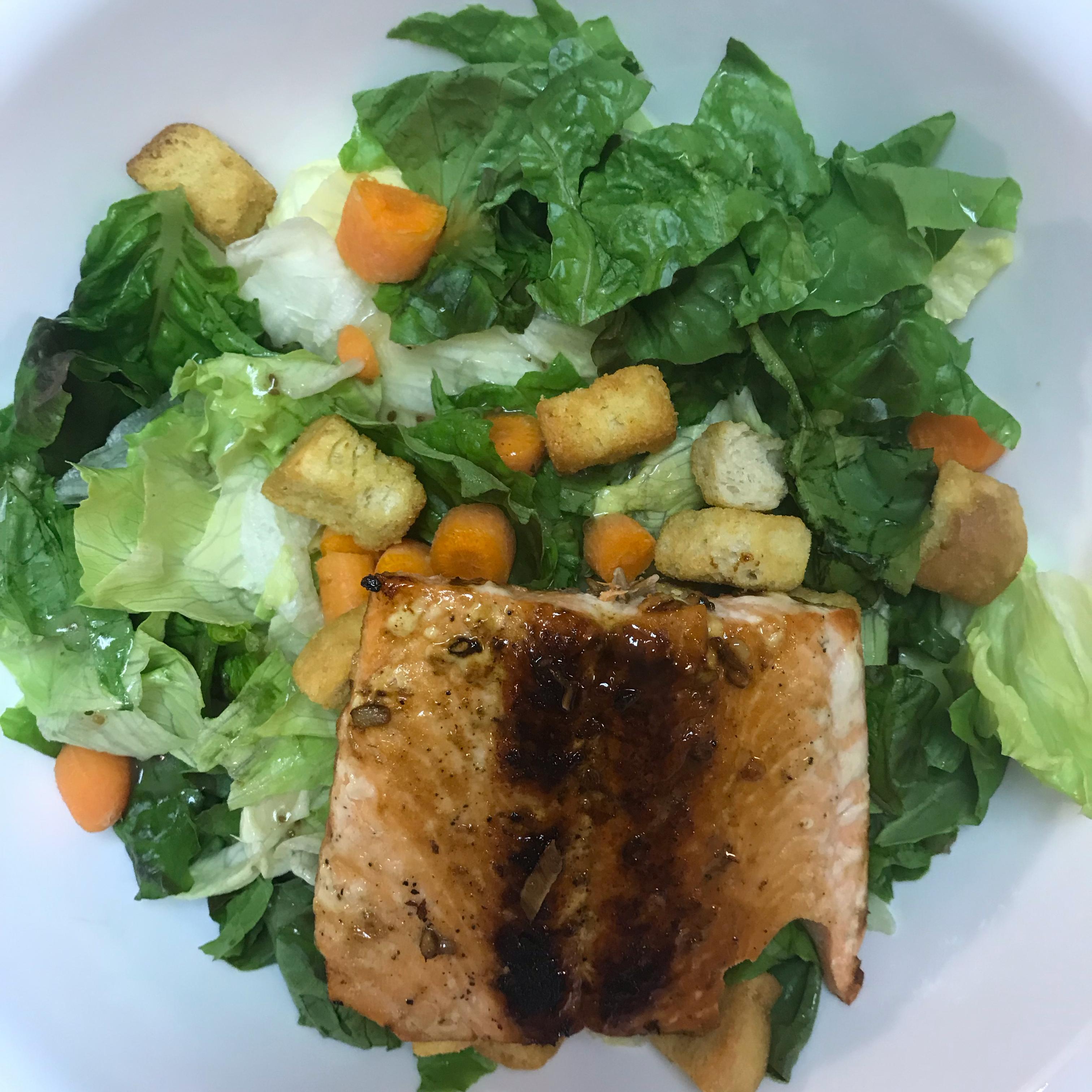 Soy-Honey Glazed Salmon with Asparagus Lauren Roach