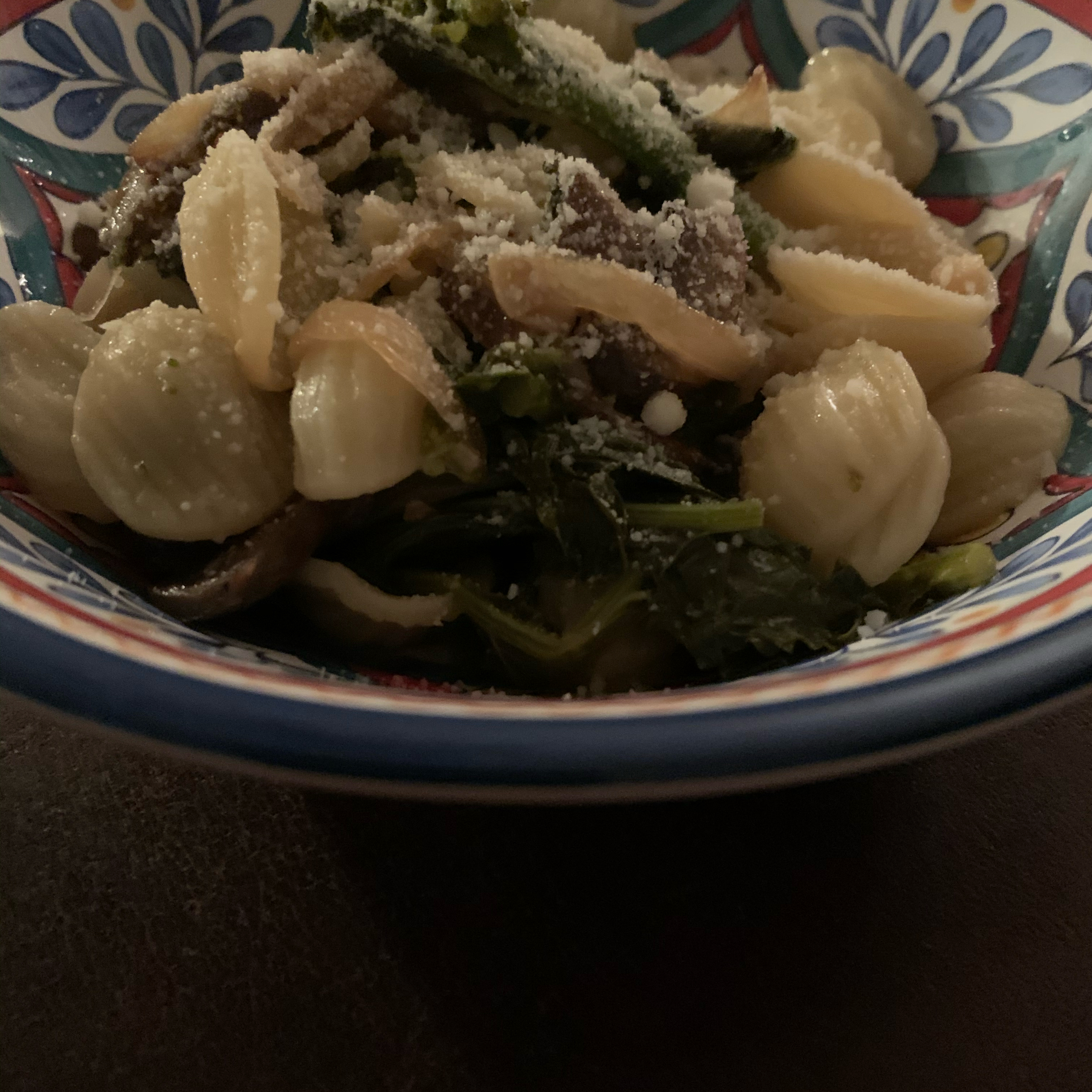 Broccoli Rabe with Portobello Mushroom Dom F