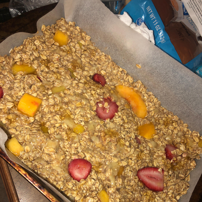Marty Bars: Oatmeal Breakfast Bars