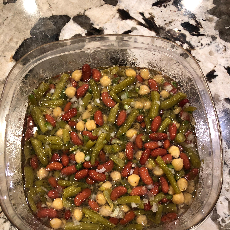 Three Bean Salad dman