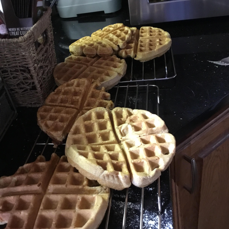 Cornmeal Waffles Patricia