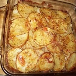Scalloped Potatoes and Onions SpasticChef