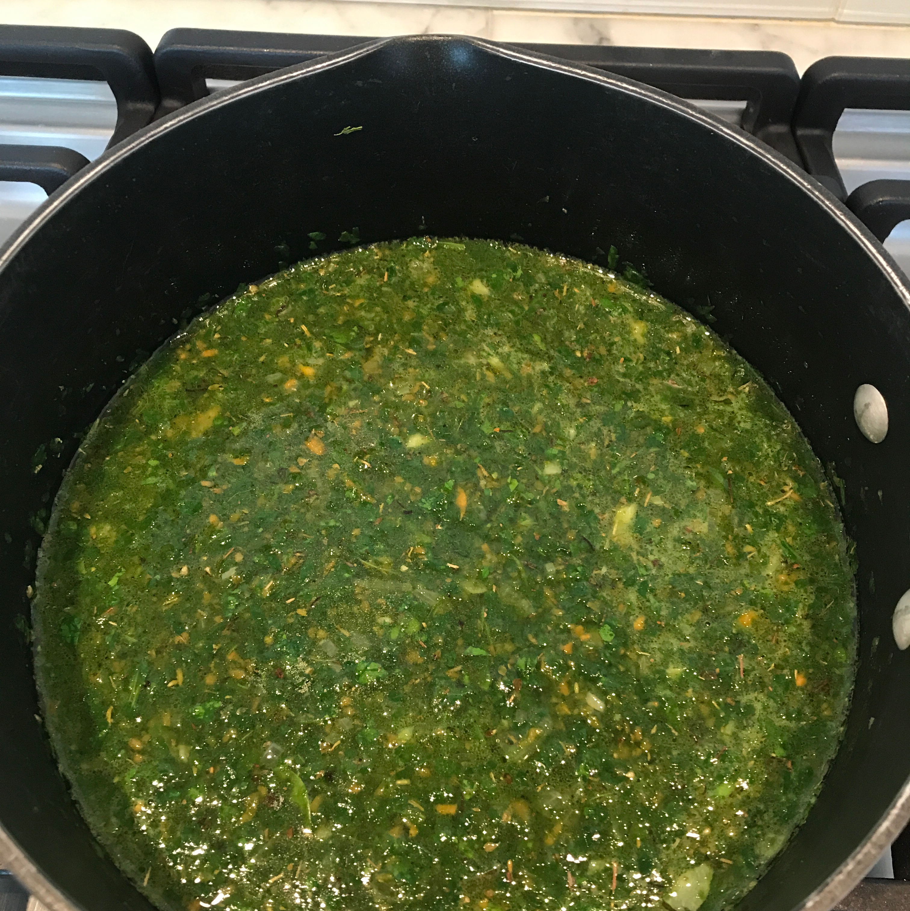 Spinach and White Bean Soup William Venus