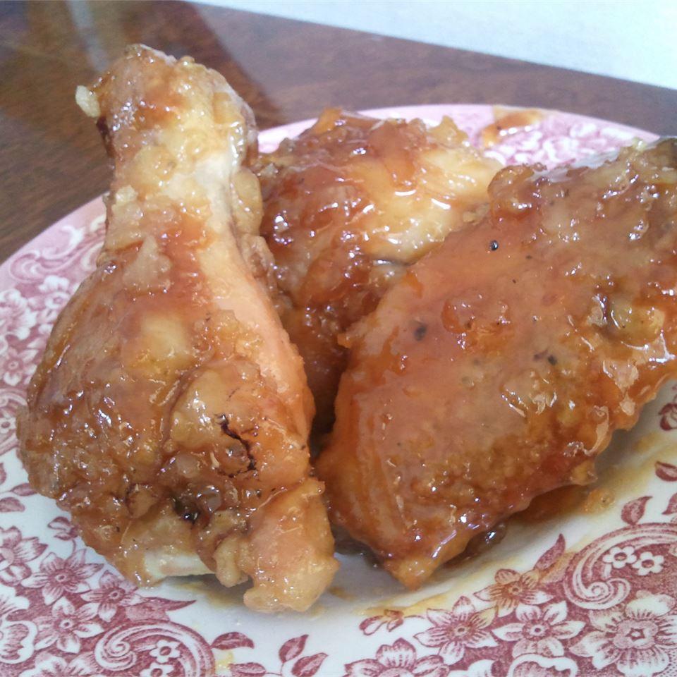 Spicy Orange Chicken Wing Sauce