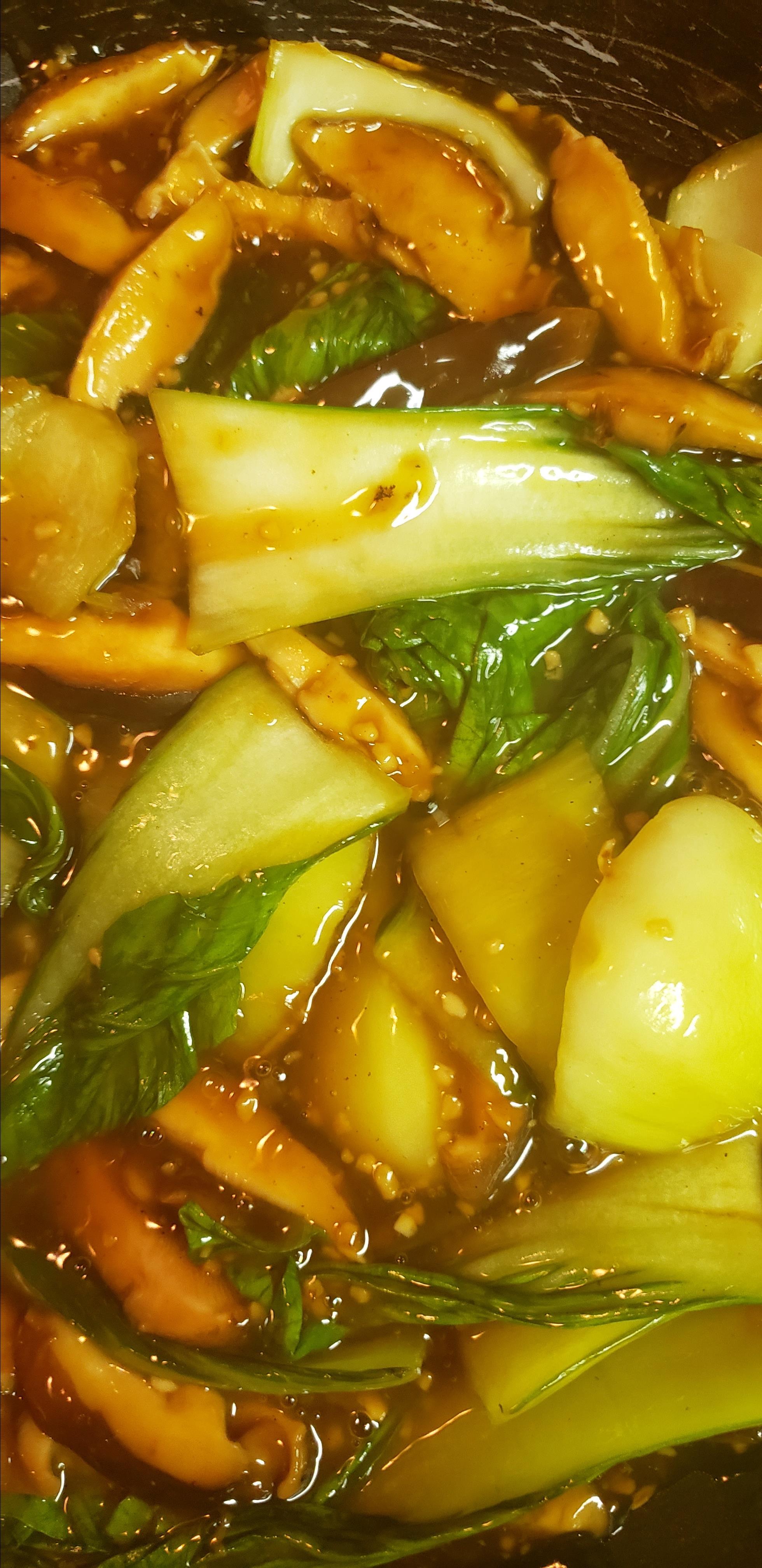 Baby Bok Choy and Shiitake Stir-Fry GodlyMother
