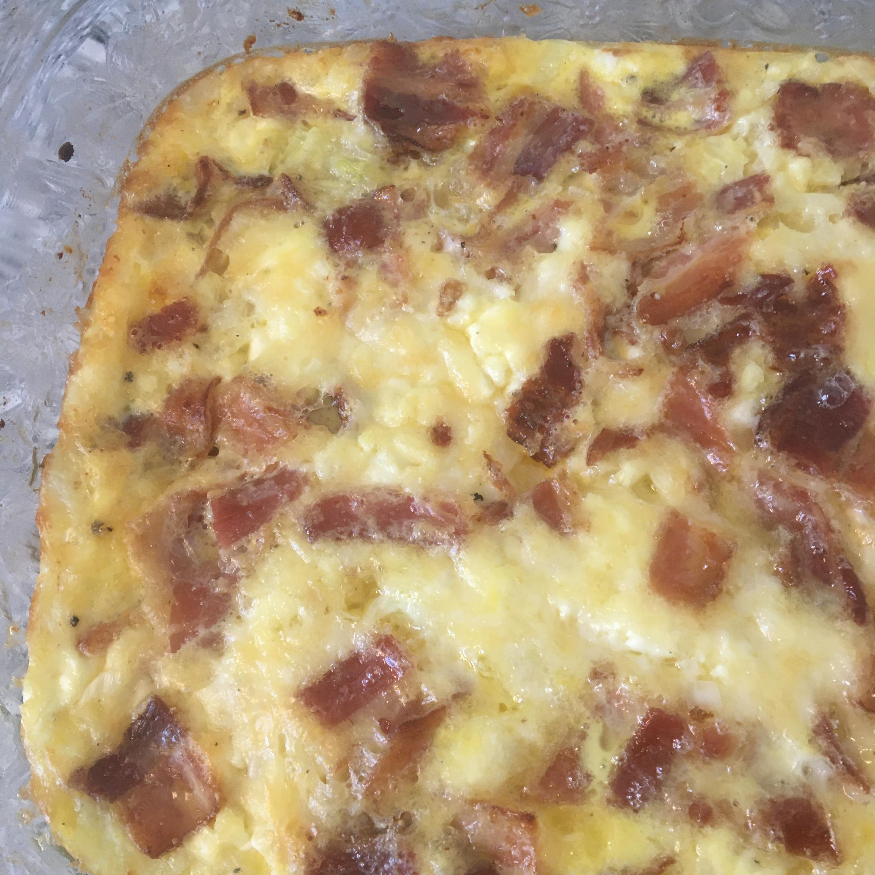 Bacon Cheese Frittata