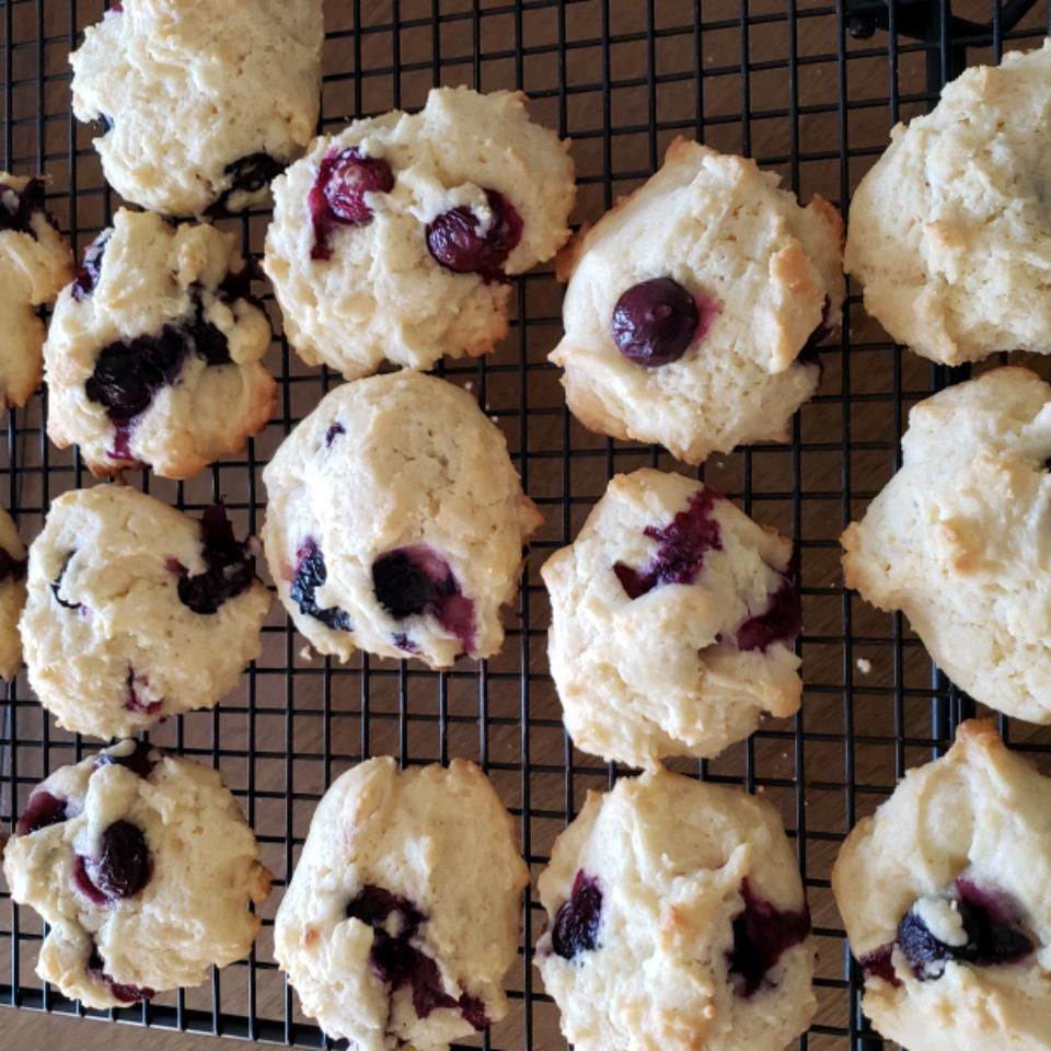 Blueberry Drop Cookies Dani