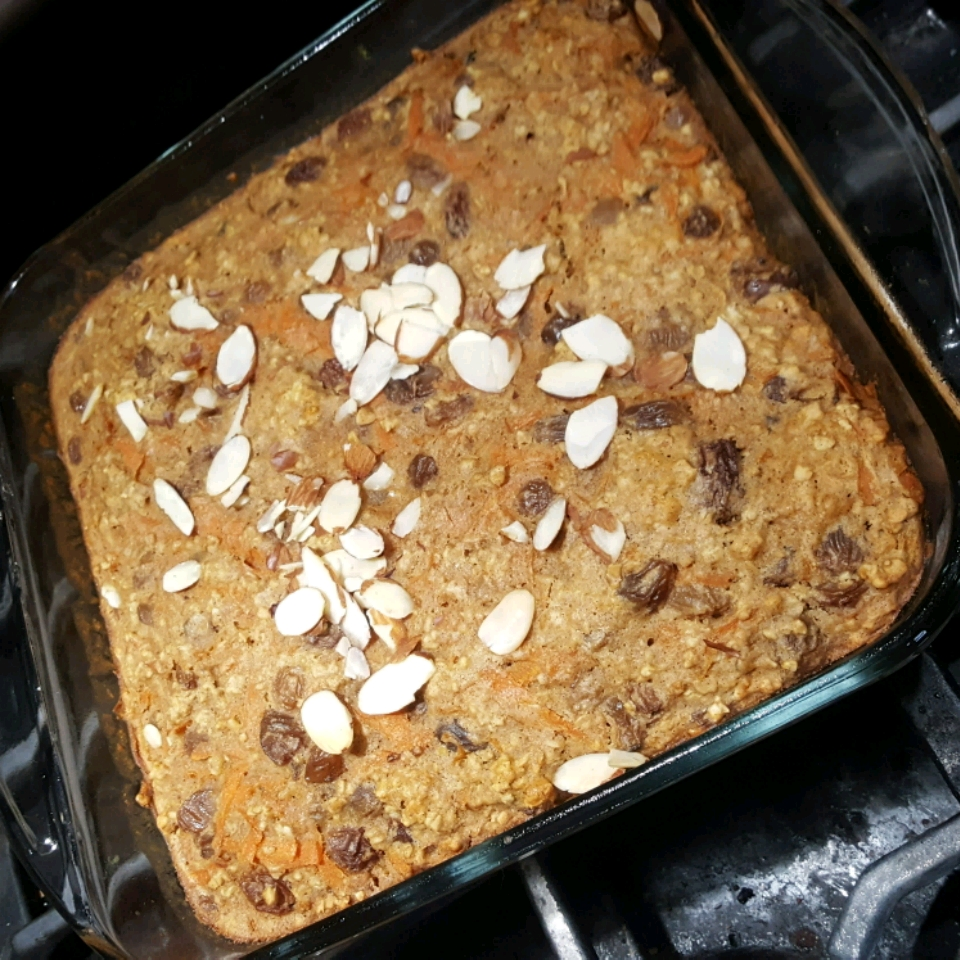 Carrot-Oatmeal Spice Cake Colleen Seal