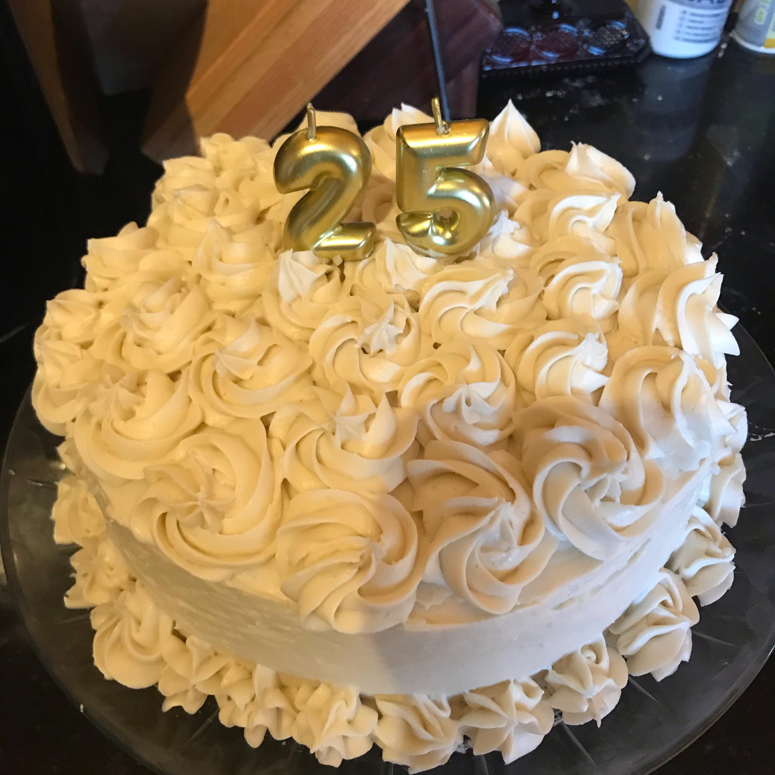 Aunt Bert's White Cake nancyT