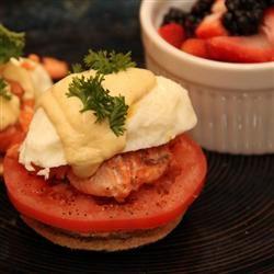 Eggs Benedict with Salmon mvendetti