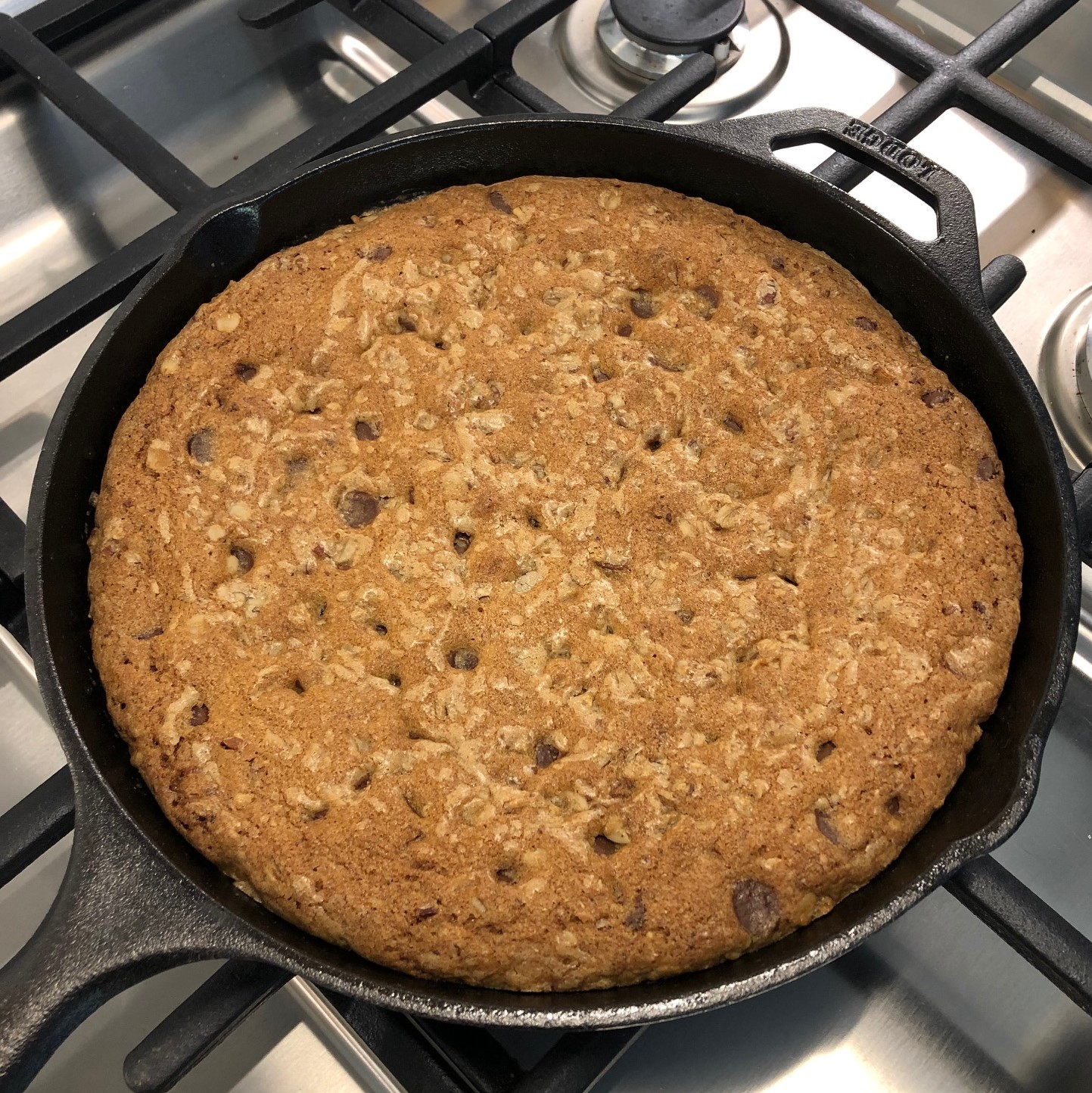 Loaded Chocolate Chip Skillet Cookie