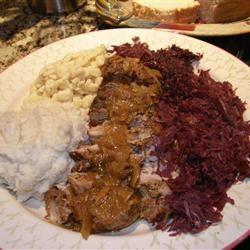 Schweinebraten Pork Roast Brenda Black