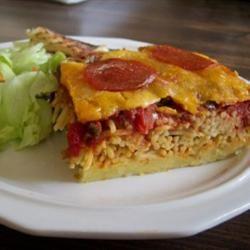 Spaghetti Pizza Lasagna Naomi Ritter