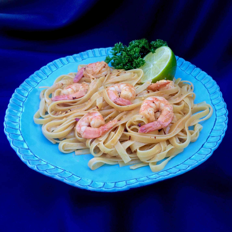 Creamy Bang Bang Shrimp Pasta