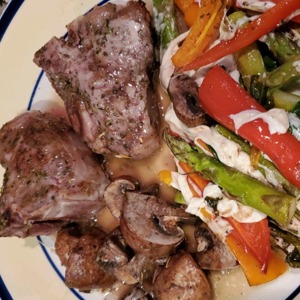 lamb chop recipes allrecipes Lamb Chops and Vegetables in Foil