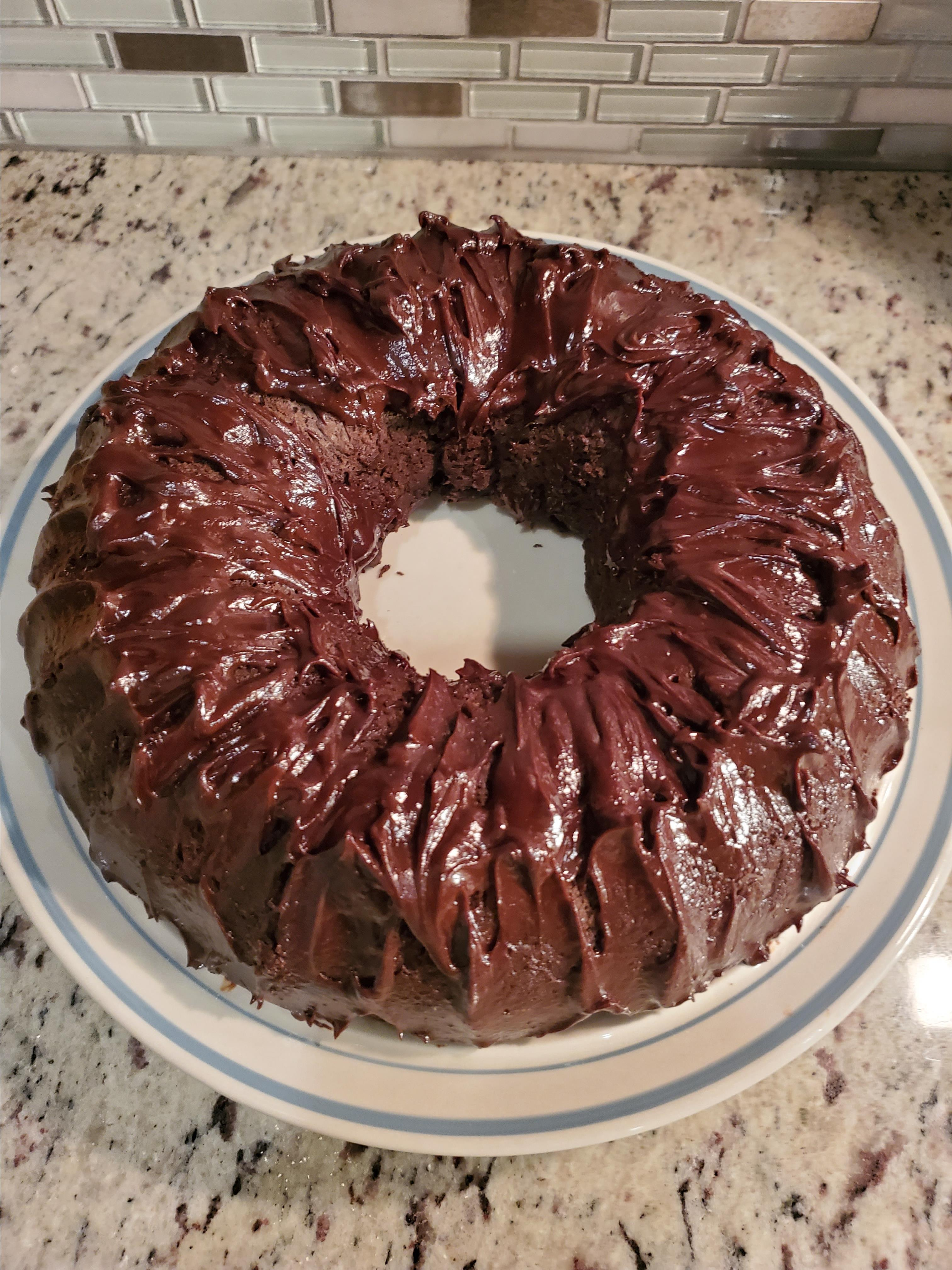 No-Workout-Needed Chocolate Cake Tricia
