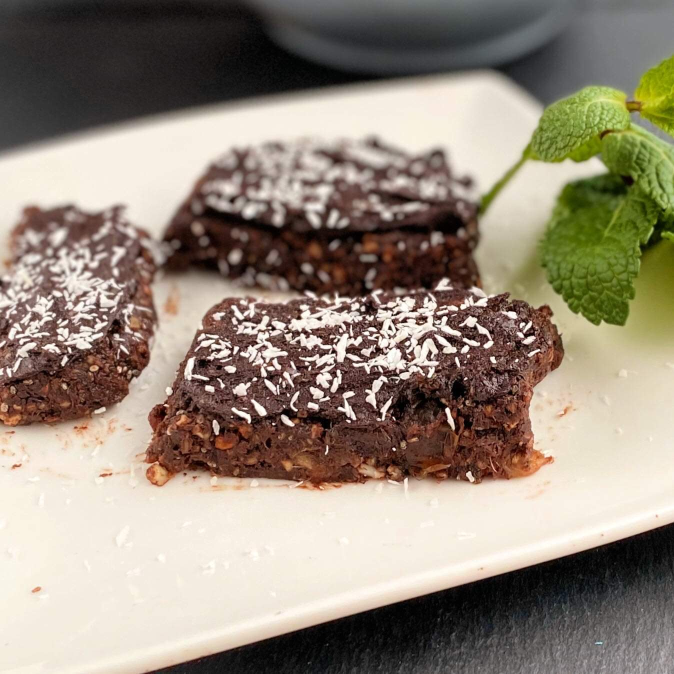 No-Bake Healthy Brownies