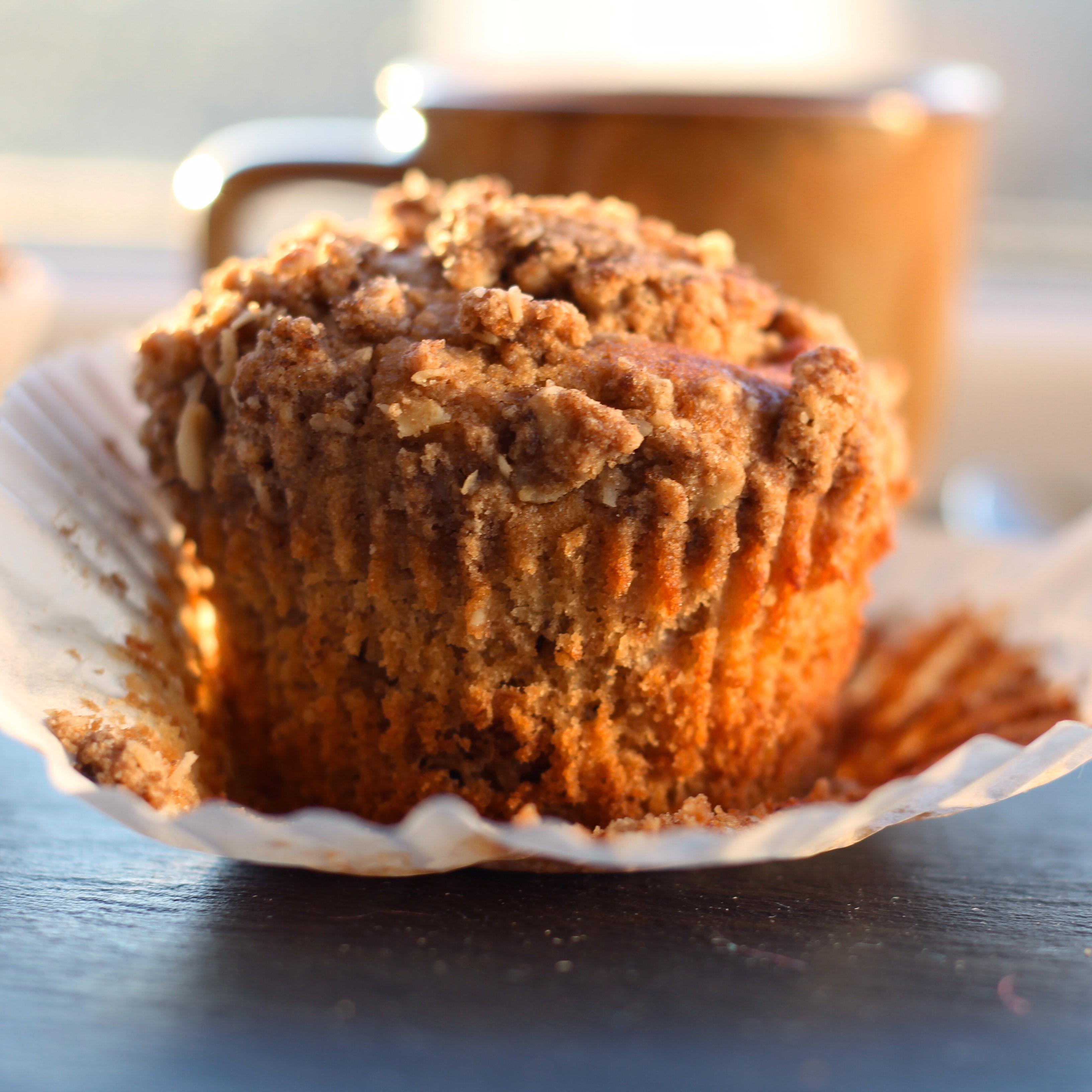 Gluten-Free Banana-Nut Buckwheat Muffins