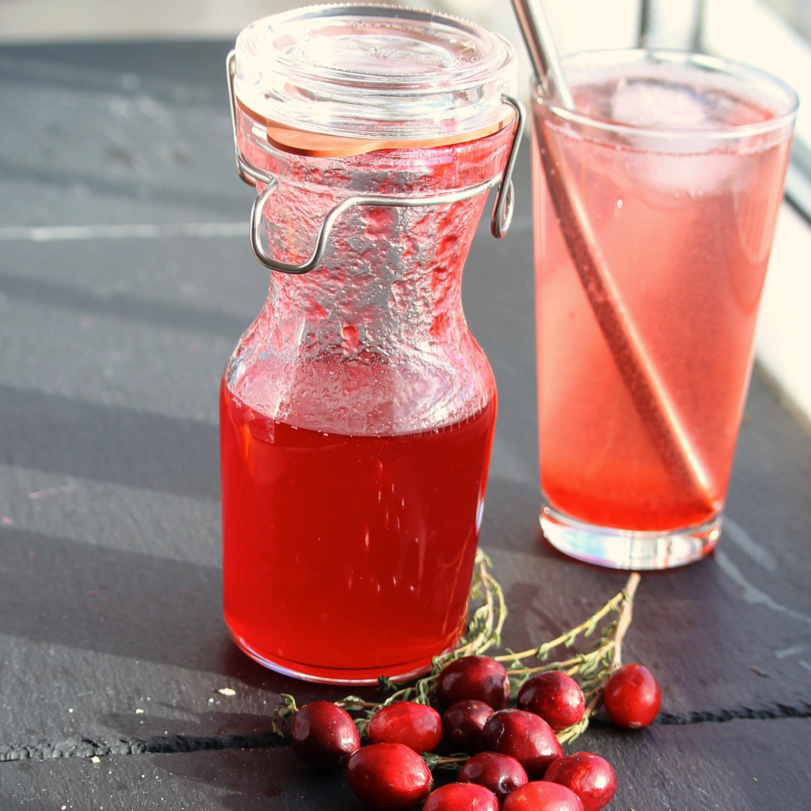 Cranberry Shrub