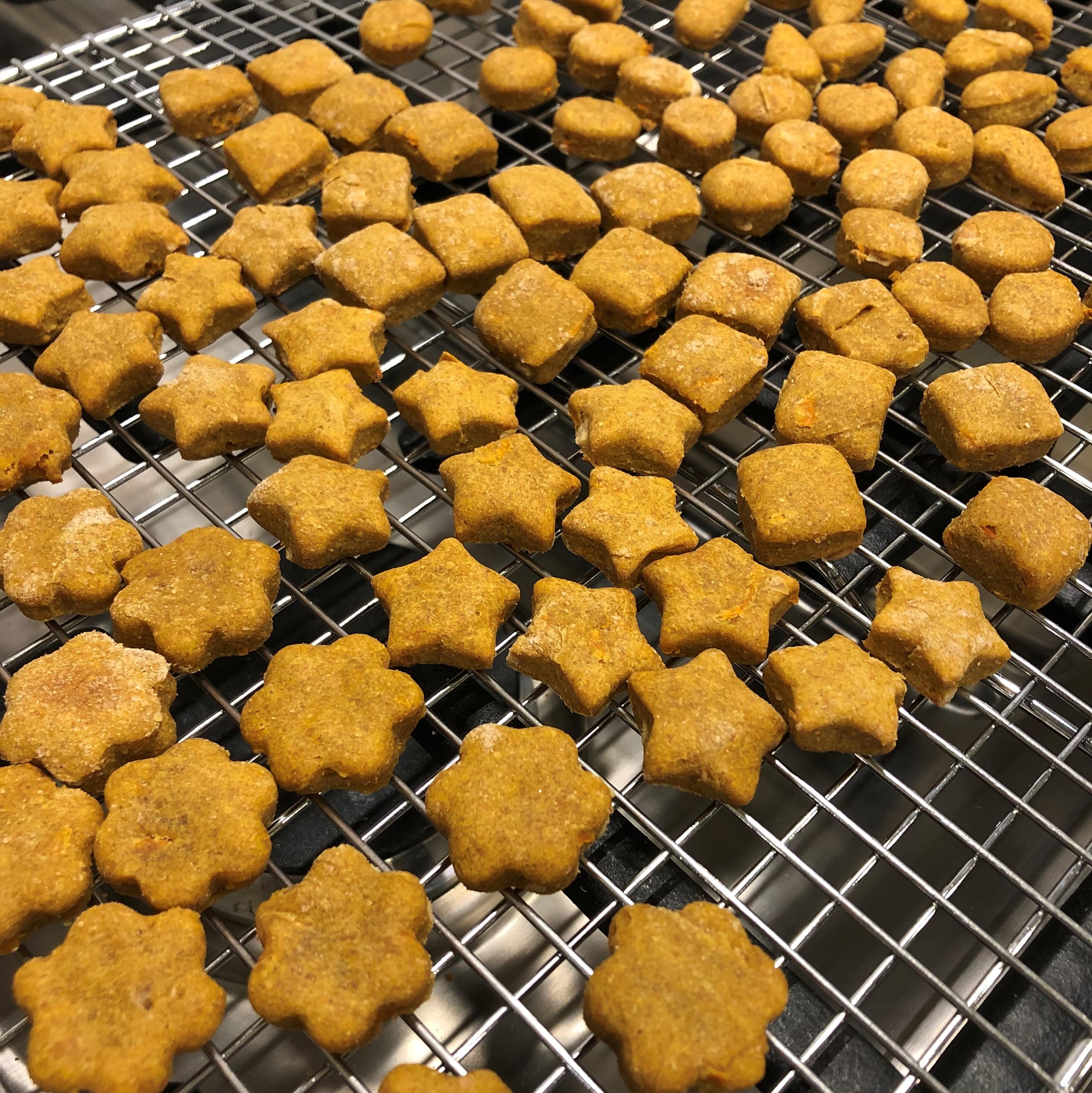 Peanut Butter and Carrot Dog Treats jaybu