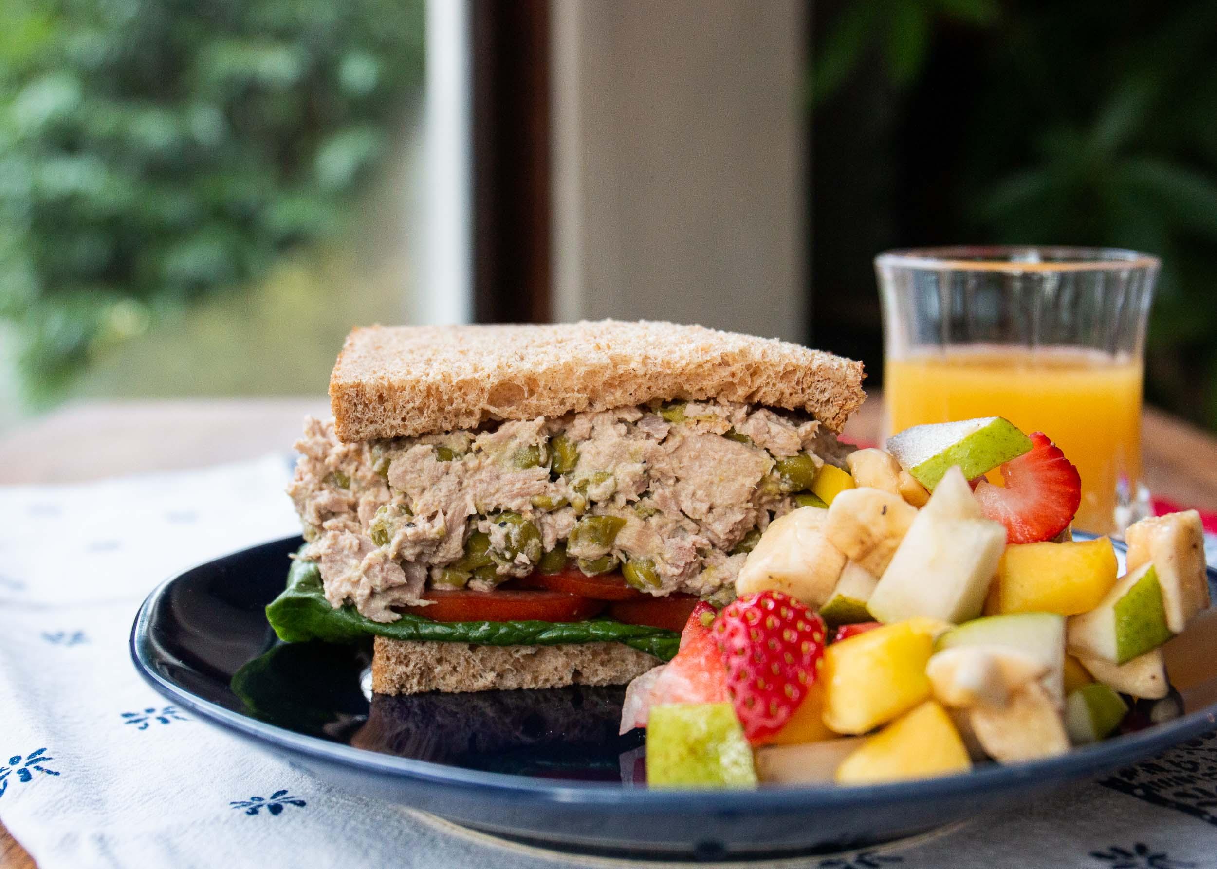 Tuna Fish Pea Salad Mackenzie Schieck
