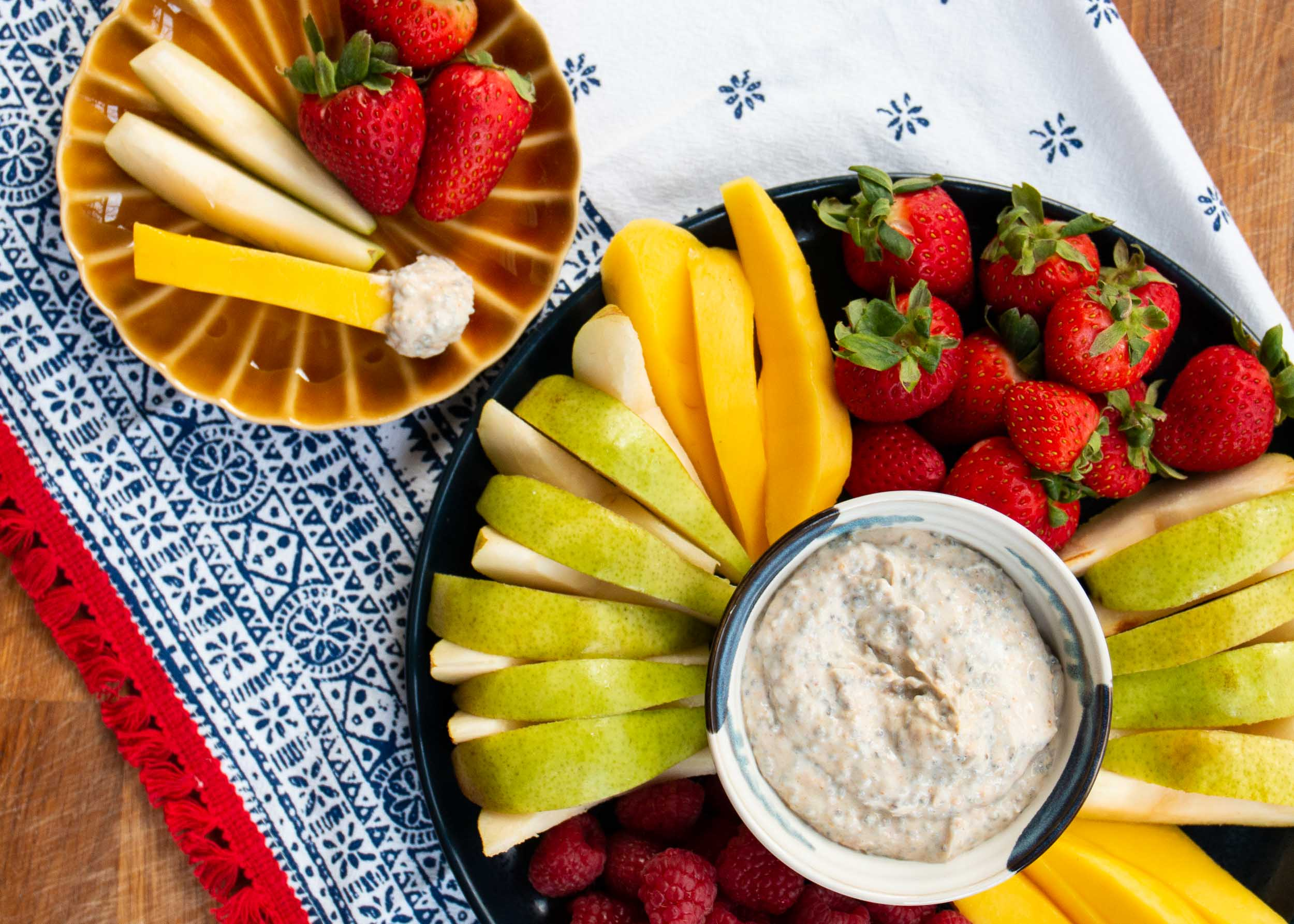 Healthy Peanut Butter Fruit Dip Mackenzie Schieck
